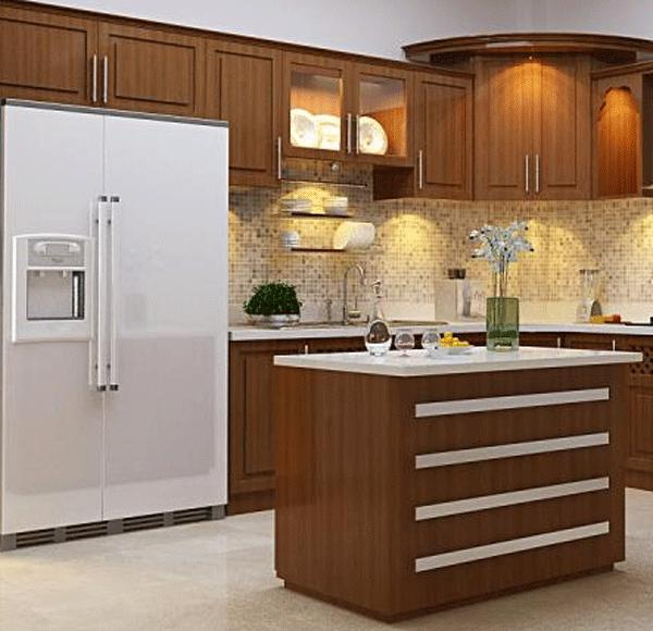 Vị trí đặt tủ lạnh tốt nhất là đặt trong phòng bếp