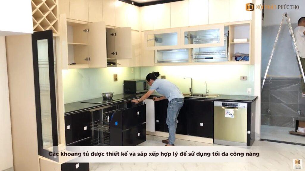 Thi công hoàn thiện nội thất tủ bếp