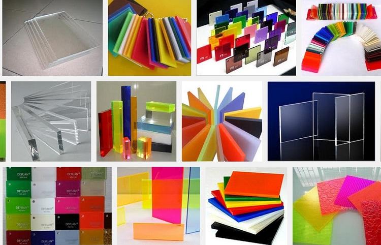 Acrylic là loại vật liệu sở hữu những ưu điểm hoàn hảo của sự hiện đại